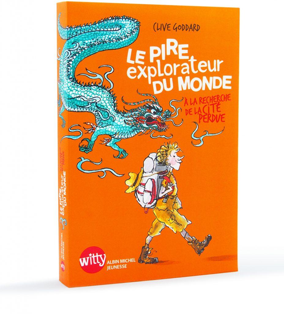 """""""Fintan Fedora"""" roman humoristique de Clive Goddard, Albin Michel Jeunesse 2015, illustrations d'Irène Bonacina"""