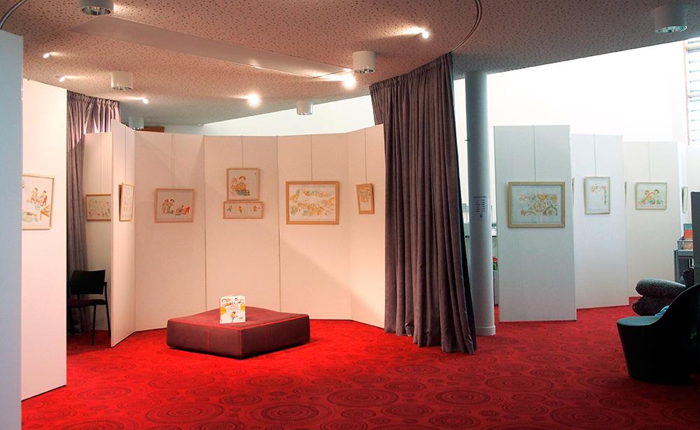 Exposition d'Irène Bonacina à la médiathèque de Séné, Vannes agglo