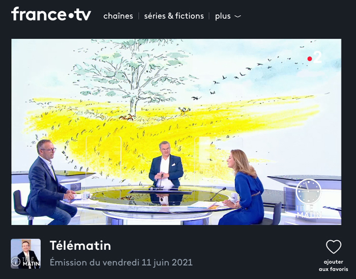 """L'album """"Esther Andersen"""" de Timothée de Fombelle et Irène Bonacina publié chez Gallimard Jeunesse, dans Télématin le 11 juin 2021, chronique d'Olivia de Lamberterie"""