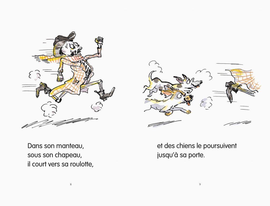 Roman jeunesse de Ludovic Lecomte et Irène Bonacina paru à l'école des loisirs collection Moucheron